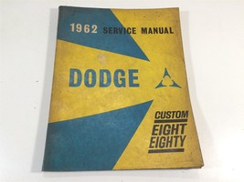 1962 Service Manual Dodge Passenger Car Custom Eight Eighty OEM Factory Original - $49.99