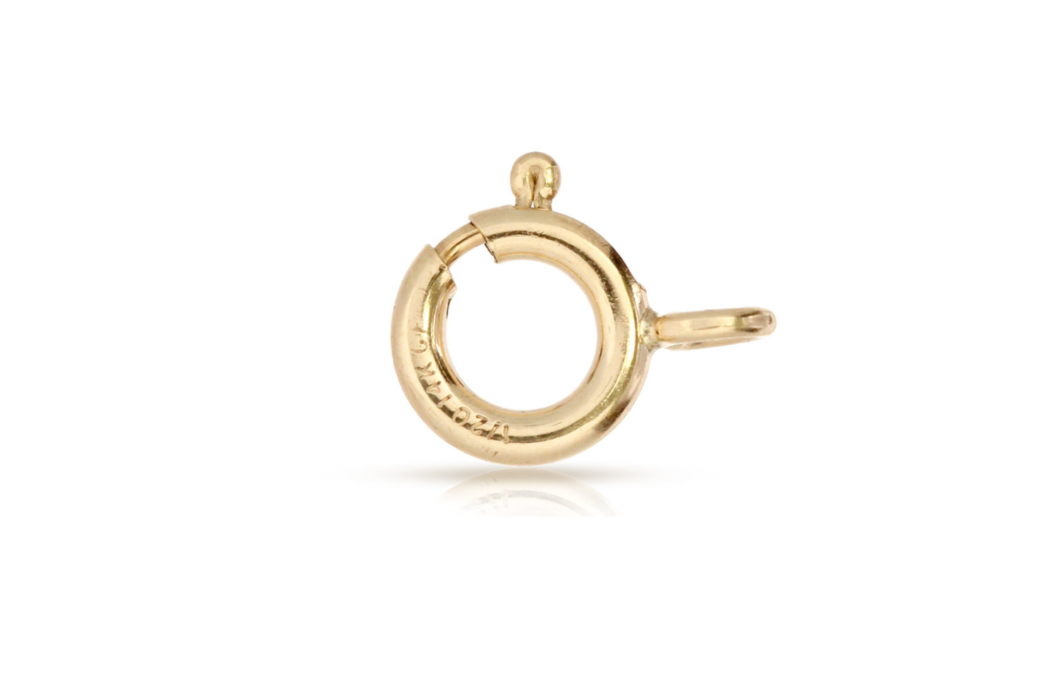 Primary image for Clasp, Spring Ring With closed Ring,14Kt Gold Filled, 6mm, 500pcs (3063)/25
