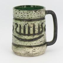 Arol Pottery Halden Norway Saga Pattern Large Coffee Mug c1965 image 1