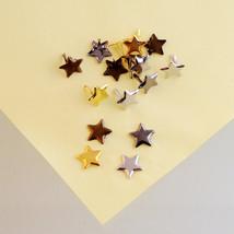 Star rivets scrapbook brads mixed colors 50 pieces scrapbooking embelish... - $3.99