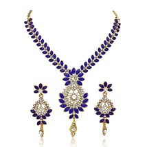 YouBella Jewellery Bollywood Ethnic Gold Plated Traditional Indian Neckl... - $28.99
