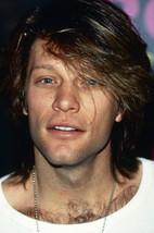 Jon Bon Jovi candid portrait in white shirt 18x24 Poster - $23.99