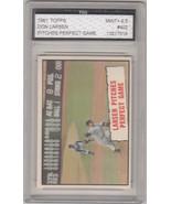 1961 Topps #402 Don Larsen FGS Graded 9.5 - $111.38