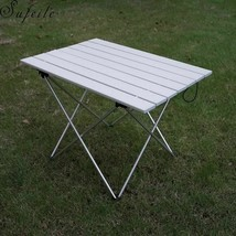 Portable Foldable Table Outdoor BBQ Ultralight Aluminum Alloy Camping Eq... - $50.34+