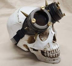 Spiked Steampunk Distressed Engineer Goggles - $45.00
