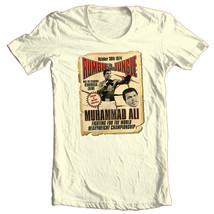 Muhammad Ali T-shirt Rumble in Jungle boxing print graphic cotton tee ALI132 image 2