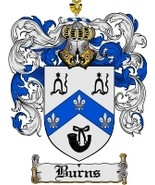 Burns Family Crest / Coat of Arms JPG or PDF Image Download - $6.99