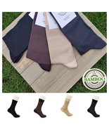 BAMBOO SOCKS for MEN - Soft - Seamless - Scented - Antibacterial -Design... - $14.84+