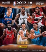 new Panini NBA 2017-18 Basketball Sticker Collection Album - $5.84