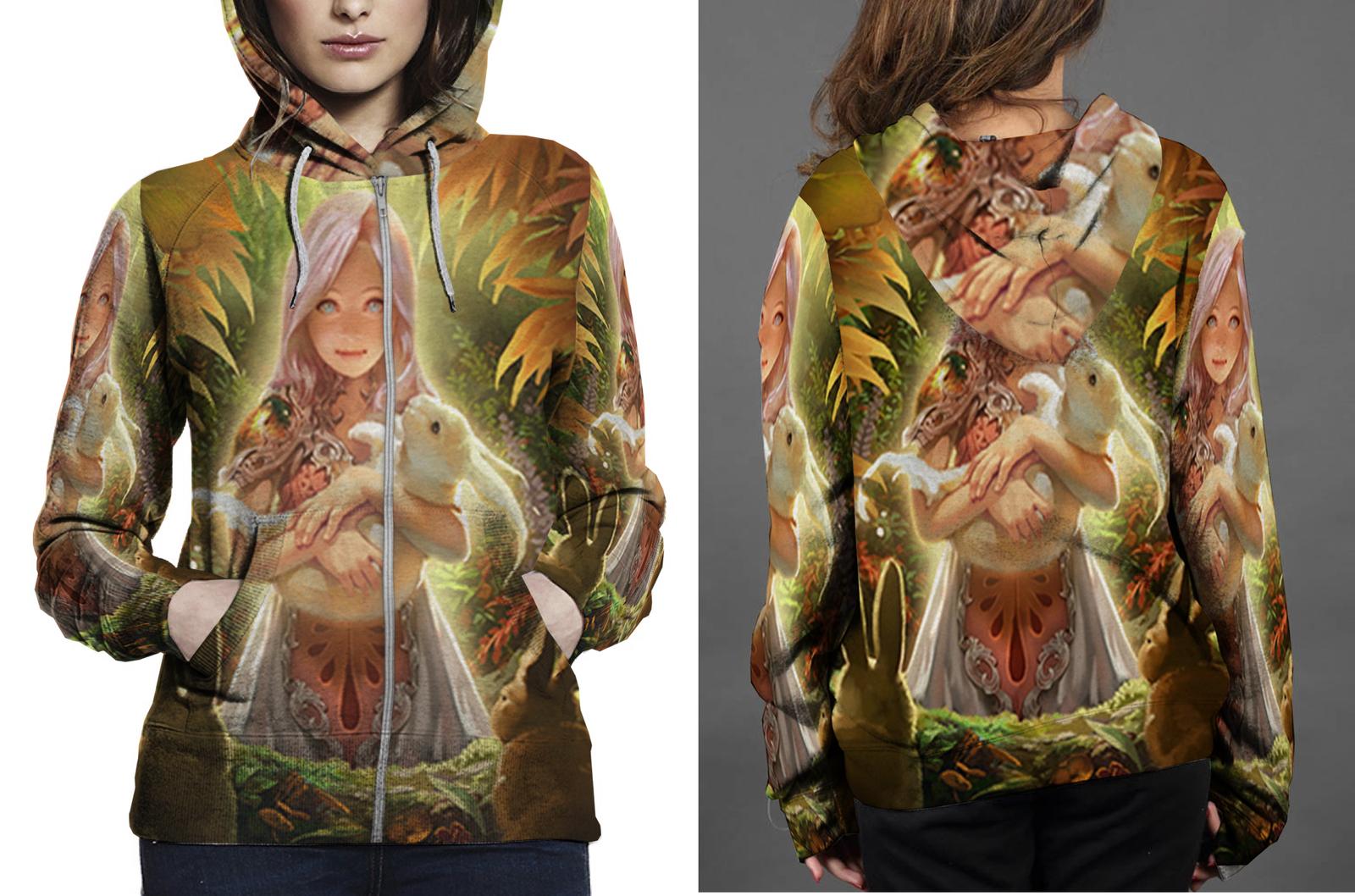 Medival dragon zipper hoodie women s