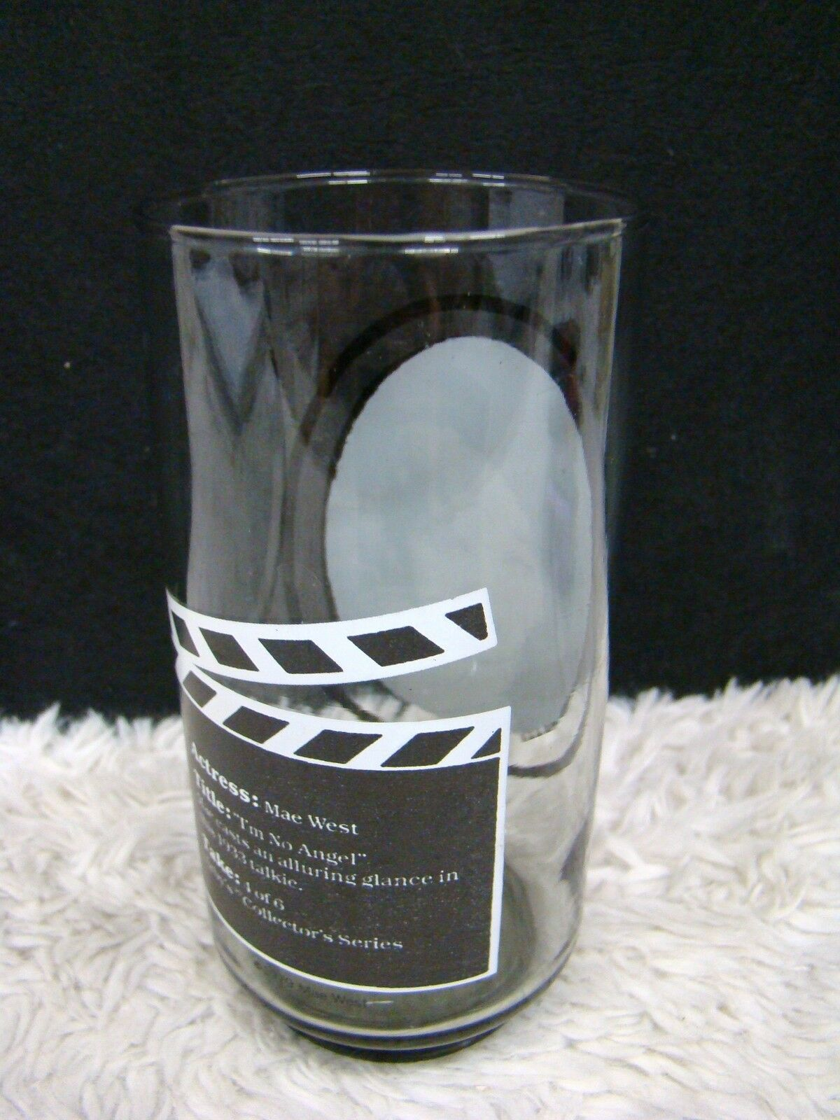 """Take 1 of 6 Mae West Arby's Collector Series 5.75"""" Drinking Glass/Tumbler image 3"""