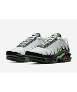 Nike Air Max Plus White/Volt-Black Shoes AJ2013-100 Sneakers Size 10.5 - $207.90