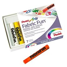 Pentel Fabric Fun Pastel Dye Sticks image 2