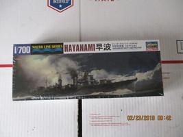 Hasegawa Japanese Navy Destroyer Hayanami 1/700 scale - $25.99