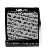 The BrowGal Tweezer Sharpeners
