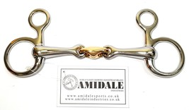 Equestrian D-Ring Waterford PASTILLE cheval Bridon Bit