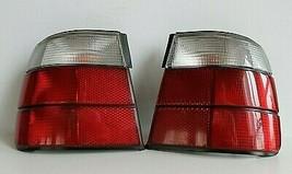 Tail Lights BMW E34 OEM HELLA Clear Facelift Set Sedan Genuine M5 525i 540i - $394.02