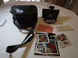 Polaroid Land Camera vintage Super shooter plus case booklet manual PT71... - $37.21