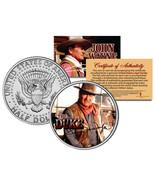JOHN WAYNE THE DUKE * Chisum * GENUINE JFK Half Dollar U.S. Coin - Licensed - $178,35 MXN