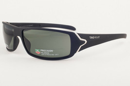 Tag Heuer Racer 9205 Matte Black / Green Polarized Sunglasses TH9205 301... - $183.15