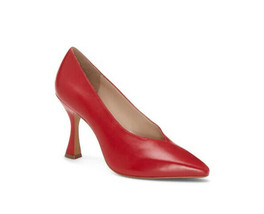 Vince Camuto Ishani Glamour Red Alicante Sheep Pointed Toe Pump 7 M NEW - $39.60+