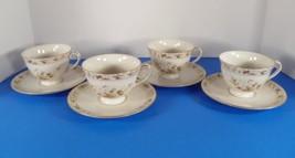 Royal Doulton MANDALAY Cup and Saucer Set (s) LOT OF 4 Base Rim Fleabites - $21.73