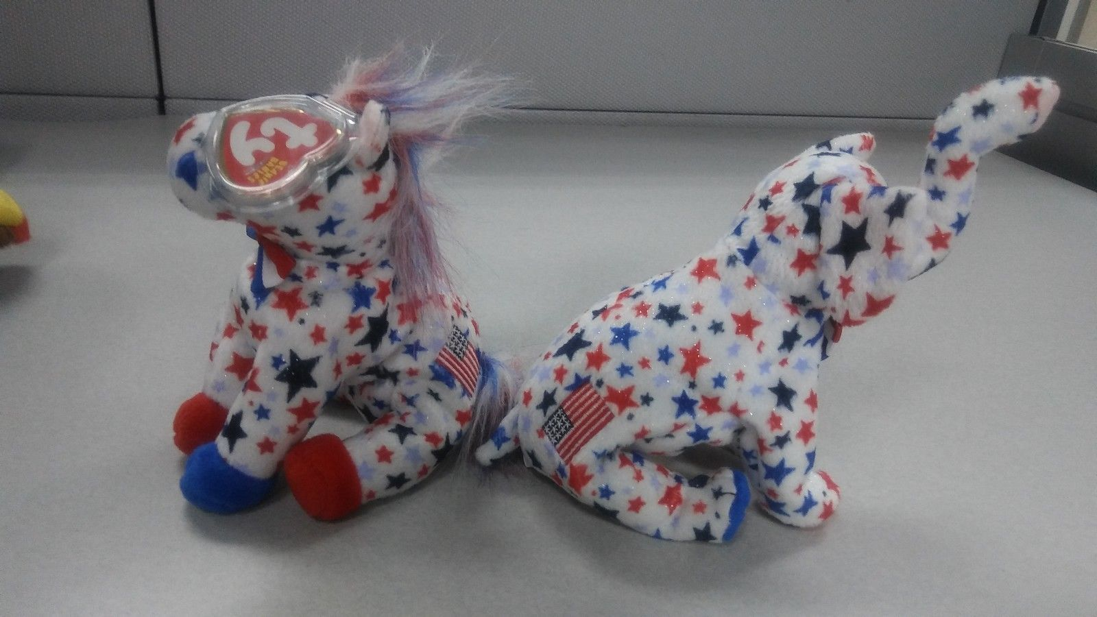236416f8ff0 Ty Beanie Babies Righty the Elephant and and 50 similar items