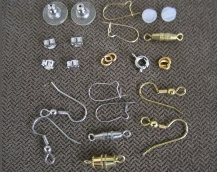Primary image for <500Pc.U•S QUALITY WHOLESALE LOT>Assorted-FINDINGS JEWELRY Repair KITS~US