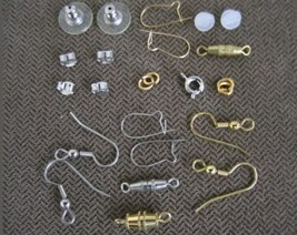 <500Pc.U•S QUALITY WHOLESALE LOT>Assorted-FINDINGS JEWELRY Repair KITS~US  - $9.77