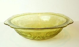 Federal Glass Madrid Golden Glow Large Serving Bowl 1934 - $34.60