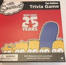 NEW The Simpsons Trivia Game Fan Edition 25 Years Board Game SEALED - $22.72