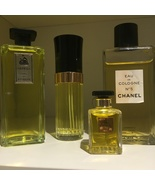 "Lanvin Chanel Perfume Factice Dummy Bottle Display 6"" Tall Vintage 4 Pie... - $59.00"
