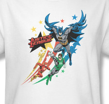 Justice League DC Batman Wonder Woman Graphic T'shirt Comics Superhero JLA303 image 1