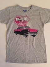 Ford / Meet Me At The Drive In / Gray Women's T-shirt / New, Medium - $11.64