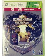 Mortal Kombat vs DC Universe MoviePack Xbox 360 New Xbox 360, Xbox 360 - $19.31