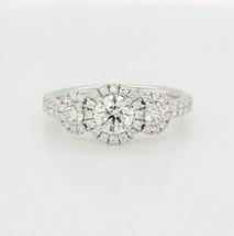 Hearts on Fire Diamond Engagement Ring 18K White Gold  $7,700 Retail, Si... - $4,455.00
