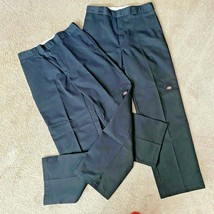 2 for 1 Dickies Men's Black NWOT Loose Fit Pants, 34 x 34 Work Uniform Casual - $39.57