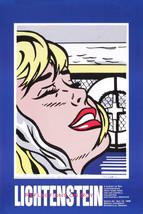 """ROY LICHTENSTEIN Shipboard Girl 30.25"""" x 20"""" Poster 1995 Pop Art Multicolor - $247.50"""