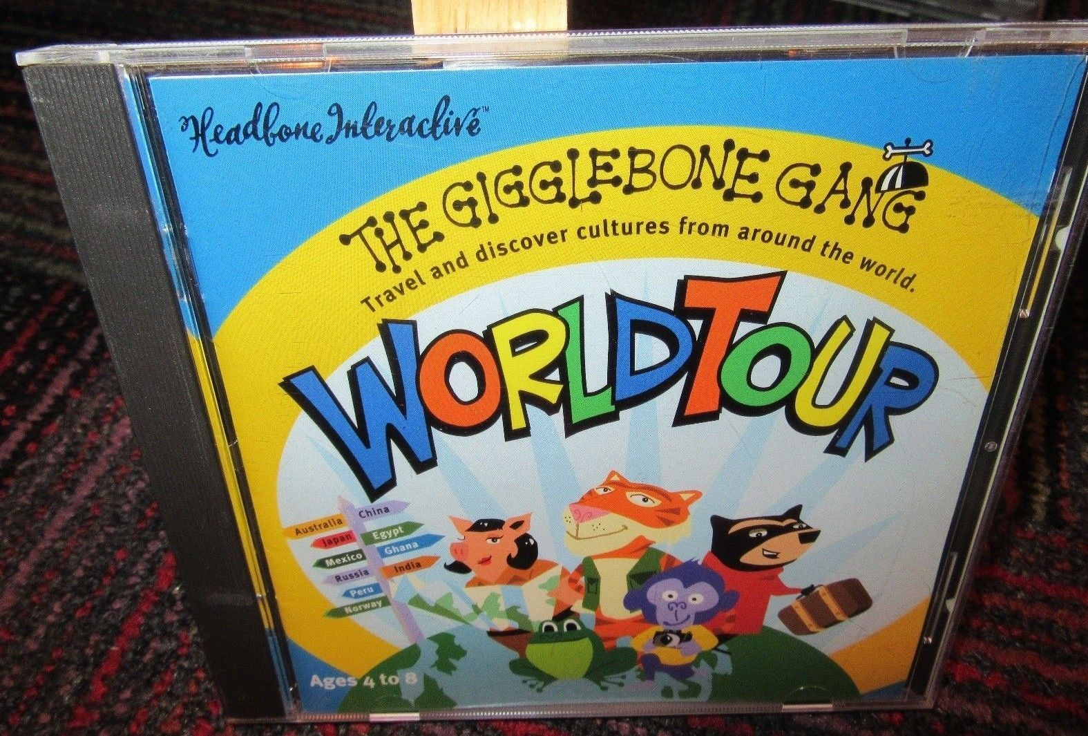 The Gigglebone Gang World Tour Pc Cd Rom And 50 Similar Items