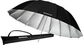 Westcott 4633 7-Feet Silver with Black Cover Parabolic Umbrella - $84.15