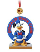 Disney Store 2019 The Donald Duck Club Legacy Sketchbook Ornament - New ... - $29.95