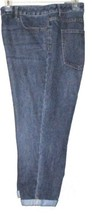 Cold Water Creek Women's Blue Cropped J EAN S Size 16 - $10.00