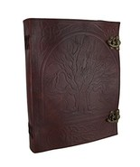 "10"" x 13"" Tree of Life Leather Journal - $42.13"