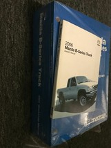 2006 mazda b series truck service repair shop workshop manual set w EWD + - $49.34