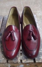Handmade Leather Loafers shoes Men Casual Shoes Custom Top Quality Shoes - $169.29