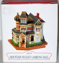 MIB 2001 LIBERTY FALLS MOUNTAIN NUGGET GAMBLING HALL AH229 Americana Col... - $11.88