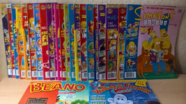 22 Simpsons Comics + Wallace & Gromit Comics [1st Issue] + The Beano - $64.98