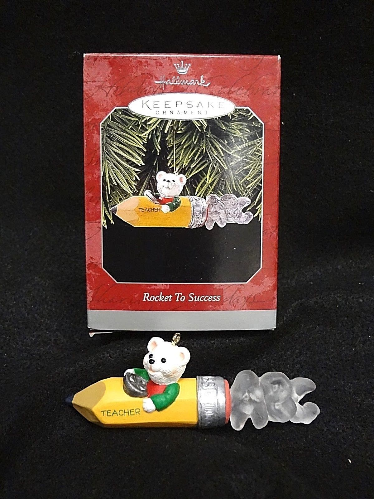 Primary image for HALLMARK KEEPSAKE ORNAMENT~ROCKET TO SUCCESS~1998 NEW in BOX ~ FREE SHIPPING