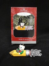 HALLMARK KEEPSAKE ORNAMENT~ROCKET TO SUCCESS~1998 NEW in BOX ~ FREE SHIP... - $4.69