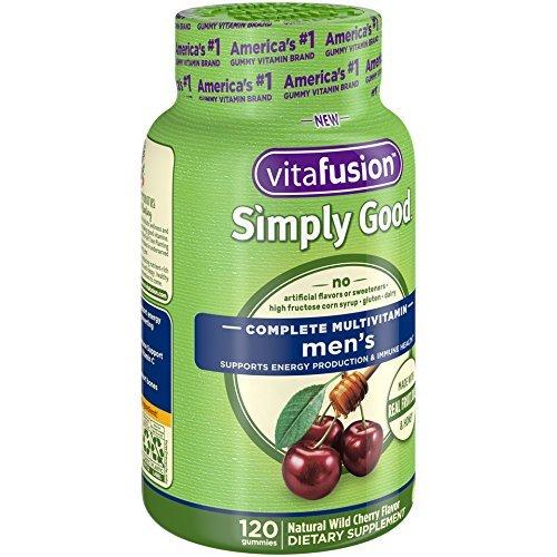 Vitafusion Simply Good Men's Complete Multivitamin, 120 Count